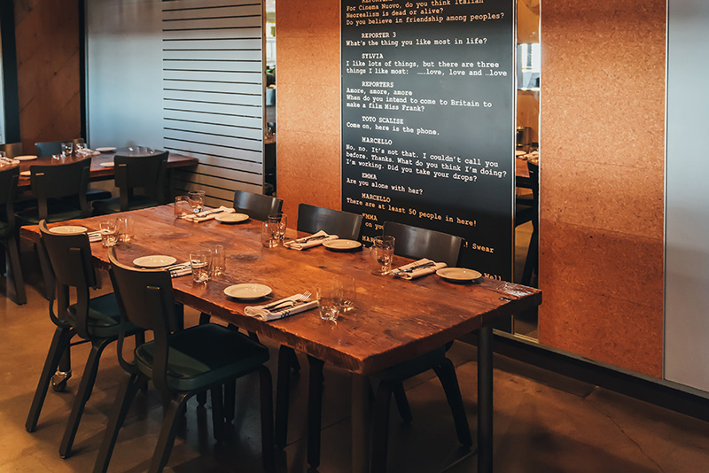 Fabbrica Don Mills Private Dining Room