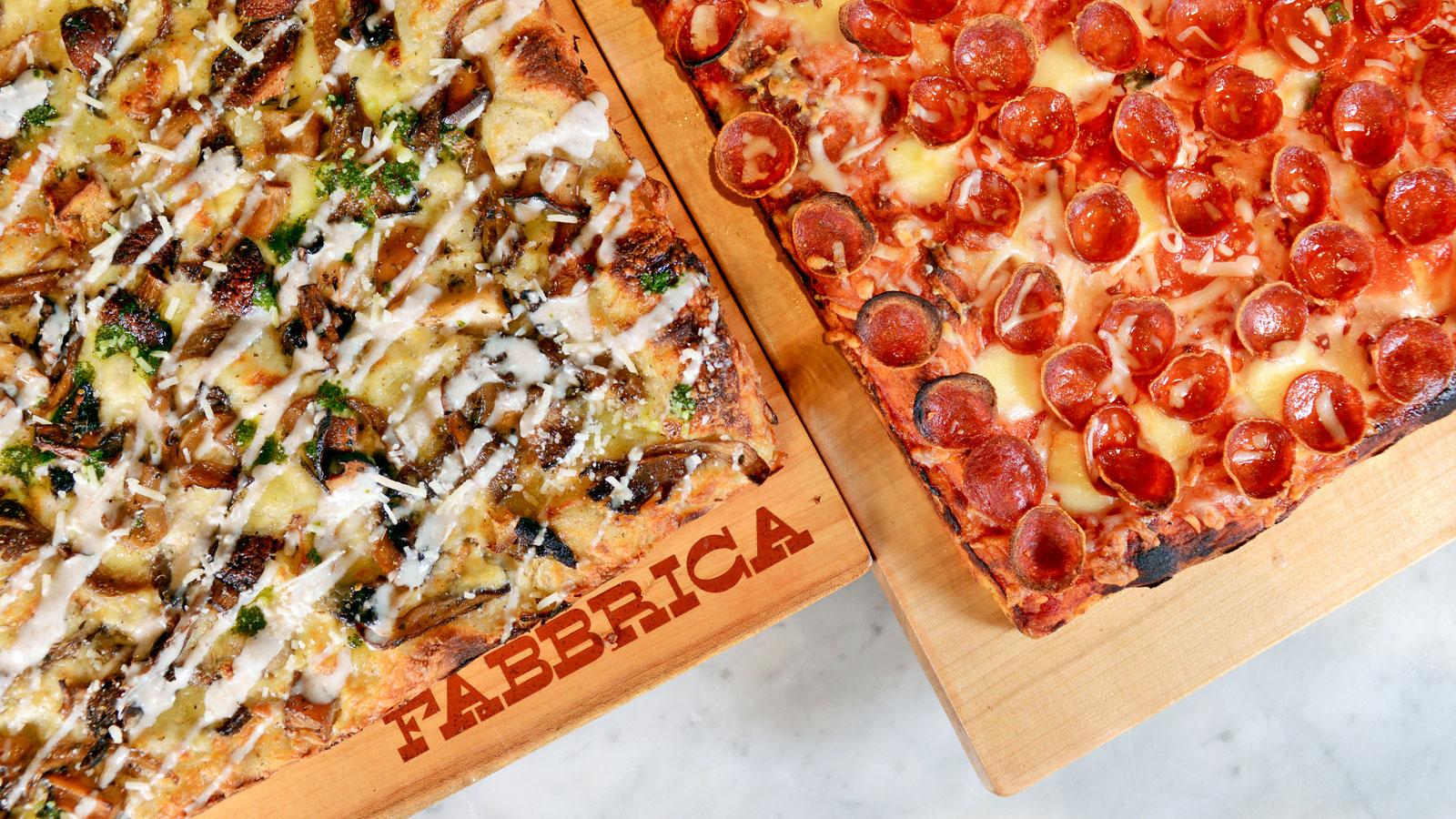 Fabbrica pizzas