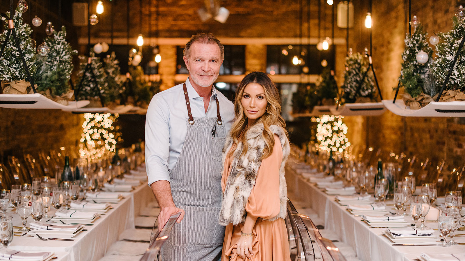 Mark McEwan and Melissa Andre