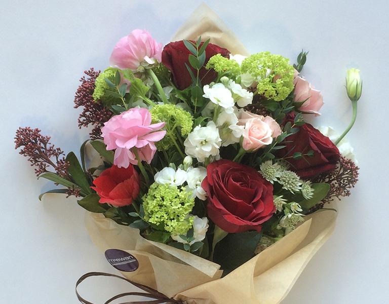 McEwan Floral Valentine's Day bouquet