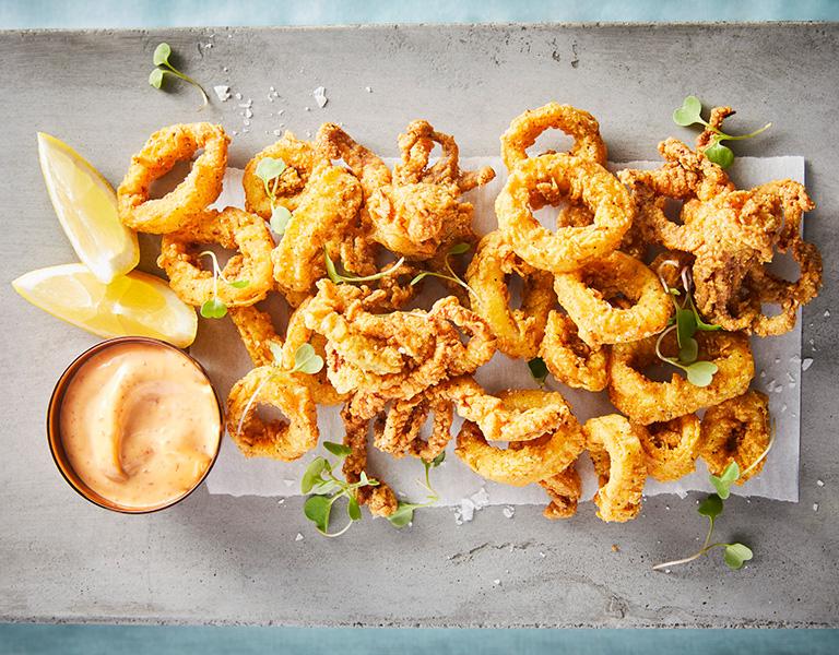 Advieh Spiced Calamari, Diwan